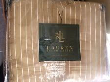 RALPH LAUREN 52ND STREET STRIPE KING BEDSKIRT New $175.00