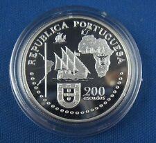 Portugal 200 Esc Tratado de Tordesilhas 1994 Silber PP