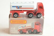Matchbox Lesney No 14 Elf Petrol Tanker - Made In England - Boxed - (B49)