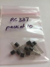 BC337 plastic transistor TO-92 package 10pcs 33.90 H305