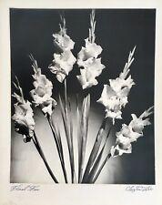 ORIGINAL SIGNED STILL LIFE FLOWER ART PHOTOGRAPH BY PHOTOGRAPHER CLOIRTON LEE