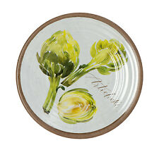 Epicurean Mediterranean Melamine Serving Artichoke Plate 21.5 cm Party BBQ