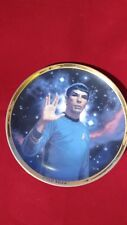 The Hamilton Collection 25th Anniversary Star Trek Collectors Plate Spock