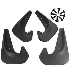 4pcs Universal Car Auto Mudguards Mudflaps Fenders Splash Guards Front Rear
