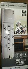 Belkin 12-Outlet 8 foot cord Home Theater Surge Protector