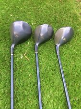 3 x LADIES KING COBRA TI OFFSET FAIRWAY WOODS AND DRIVER