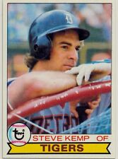 1979 Topps Baseball #196 Steve Kemp, Detroit Tigers