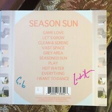 SIGNED CD GULP - Season Sun Gulp Audio CD 2014 Super Furry Animals Guto Pryce