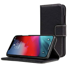 iphone X Xs Case Wallet Stand Card Holder Stand Black Cell phone accessories