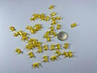 X26 herpa Albedo HO 1:87 50 Stück Achshalter gelb Radhalter Achsklammer