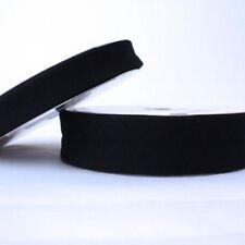 Plain Bias Binding Tape - 18mm - Black