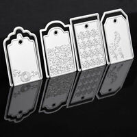 Carbon Steel Crescent Moon Cutting Die Embossing Stencil Mold Paper Templat J8L4