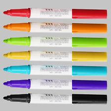 7Pcs Ceramic Glass Pens Marker Paint Shirt Mug Graffiti Drawing Waterproof