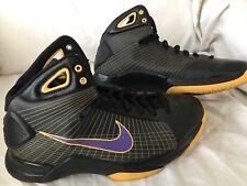 release date: 39b59 a71fc Nike 2008 Kobe Hyperdunk Supreme Purple Gold Shoes Size 9