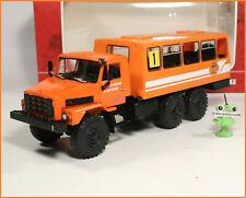 1:43 Bus Overland Challenge 1993 russian URAL NEXT NSAZ 4211 4322 USSR LKW UdSSR