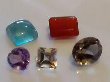 Natural loose cut gemstones