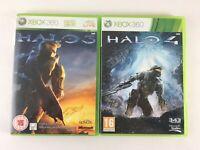 Xbox 360 Halo Game Bundle   2 Games Halo 3 + 4   Microsoft Job Lot PAL