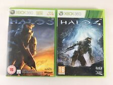 Xbox 360 Halo Game Bundle | 2 Games Halo 3 + 4 | Microsoft Job Lot PAL