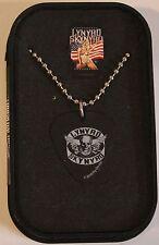 Gorgeous Guitar Pick Necklace featuring Lynyrd Skynyrd Rebel Rock Punk Jewelry
