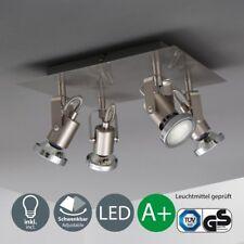 LED Design-Deckenstrahler Spot-Lampe moderne Decken-Leuchte 4-flammig Spotlights