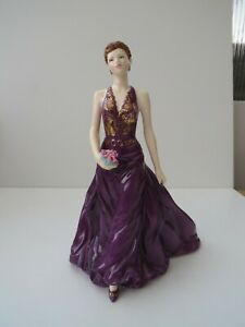 Royal Worcester Juliet Figurine Anniversary Figurine of the Year 2007
