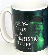 Duck Dynasty Coffee Mug Uncle Si Robertson Hey This is Si-Intistic Stuff New