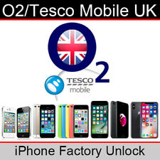 O2UK/Tesco Mobile iPhone Factory Unlocking Service (All Models/Express Service)