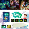 A3 Draw With Light Drawing Board Magic Painting Writing Pad Kids Educational Toy