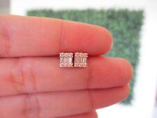 """.28 CTW Diamond Earrings 18k Rose Gold E227R sep """"SJ"""""""