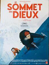 Affiche Cinéma LE SOMMET DES DIEUX 40x60cm Poster / Patrick Imbert / Animation