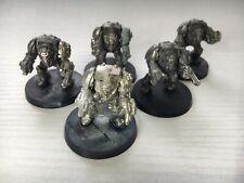 Warhammer 40k - Space Marines - Terminator Squad Rogue Trader Metal 5 Termies
