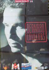AFFICHE BERNARD LAVILLIERS en tournée - 120 x 80 cm