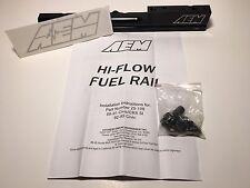 AEM 25-100BK Black High Volume Fuel Rail for Honda/Acura Integra B18B1 B18C1 B18