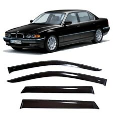 For BMW 7 (E38) Sd 1994-2001 Window Visors Side Sun Rain Guard Vent Deflectors