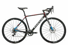 2017 Focus Mares CX Cyclocross Bike X-Small Carbon SRAM Force 1 11s DT Swiss