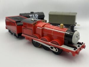Tomy Trackmaster Plarail James the Red Engine *Complete Set*