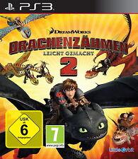 SONY PS 3 Drachenzähmen leicht gemacht 2 PlayStation deutsch gebraucht OVP BWare