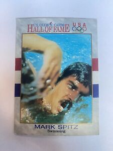 MARK SPITZ USA SWIMMING 1991 IMPEL HALL OF FAME OLYMPICS TRADING CARD