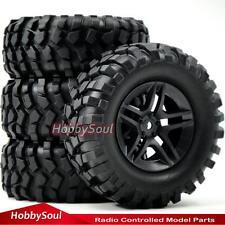 """4Stk RC 1.9"""" Crawler Reifen Tires 96mm & 1.9 Felge Wheels Rims für RC 4WD Axial"""