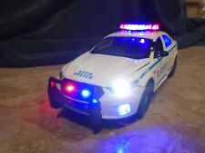 NYPD Police Interceptor - 1/24 Scale Diecast Replica W/ Working Lights