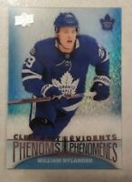 2018-19 UD Tim Hortons Clear Cut Phenoms WILLIAM NYLANDER CC-12
