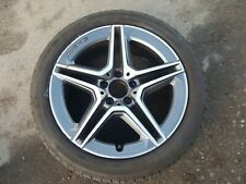 """MERCEDES W205 C-CLASS 2014-2019 18"""" FRONT AMG GREY ALLOY / TYRE A2054019500"""