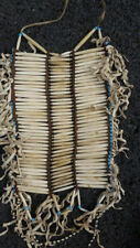 NATIVE AMERICAN INDIANS WARRIOR BREAST ARMOR PLATE NECKLACE POW WOW VINTAGE