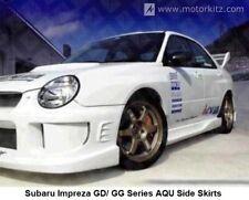 Subaru Impreza WRX STI GD / GG Series Aqu style Side Skirts