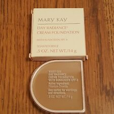 Mary Kay Day Radiance Cream Foundation SPF8 Toasted Beige 6306 Full Size!