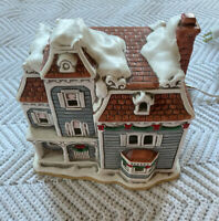 Vintage Lefton Colonial Village The Nob Hill #07337, 1989 Christmas Village EUC