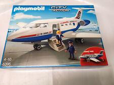 PLAYMOBIL 5395 City action-L'avion -aéroport-Neuf et scellé