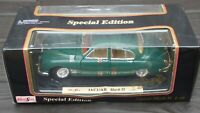 Rare 1959 Jaguar Mark II Racing Green 1:18 Maisto Vintage Toy Car Collectable