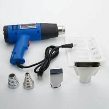 Heat Gun Hot Air Gun Dual Temperature 4 Nozzles Tool Paint 1500w US Fast Free