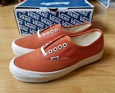 980f461ee7 Vans Vault OG Authentic LX Autumn Glaze Orange 9 NEW